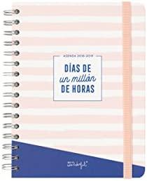 Mr. Wonderful - Agenda escolar clásica 2019-2020 diaria - Días de un millón de horas