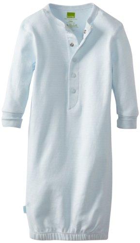 Kushies Unisexbaby Newborn Everyday Mocha Layette Gown