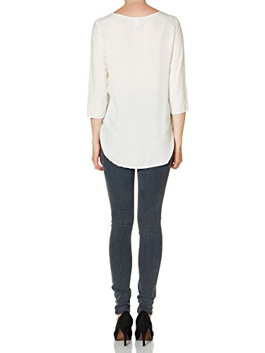Vero Moda 10122931, Blusa Para Mujer Blanco (Snow White)