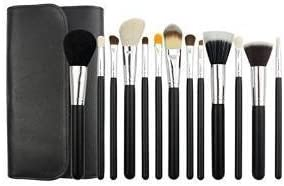 Beau Belle Brochas Maquillaje - Set 13 Brochas Maquillaje + Estuche - Pinceles Maquillaje - Maquillaje Profesional - Makeup Brushes - Makeup Brush Set - Makeup Brushes Set: Amazon.es: Belleza