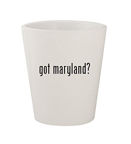 got maryland? - Ceramic White 1.5oz Shot Glass -