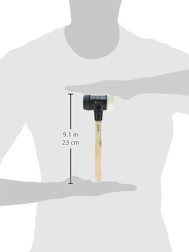 Wiha 83280 Split Head Mallet, Malleable Cast Iron, 6.5 Pounds,  3.1'' x 15.8'' by Wiha (Image #1)