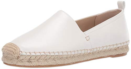 Sam Edelman Women's Khloe Shoe, Bright White Leather, 6.5 M US