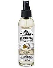 J.R. Watkins Coconut Milk & Honey Body Oil Mist, 177 milliliters