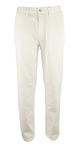 Polo Ralph Lauren Men's Classic Fit Flat Front Chino (Lauren Three Button Jeans)