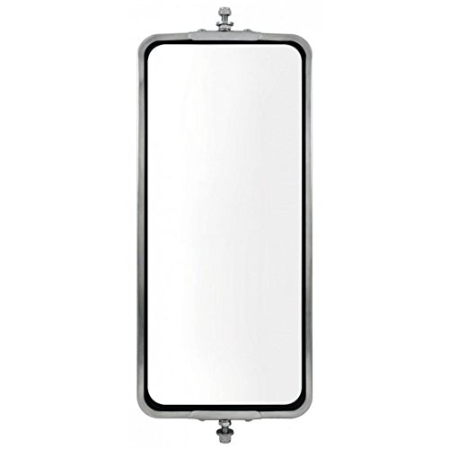 (United Pacific 60026 STAINLESS STEEL WEST COAST HEATED MIRROR - 7