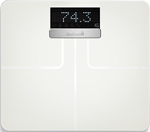 Garmin Index Körperanalysewaage (Gewichts & Körperanalysen (BMI, Körperfett), ANT+/Bluetooth Kompatibilität)