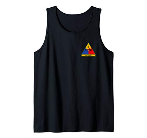 5th Armored Division Tank Top (5th Armored Division Battle Of The Bulge)
