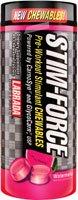 Labrada Nutrition Stim-Force à croquer stimulants de pré-entraînement de pastèque - 45 comprimés (quantité de 1)