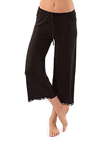 Modal Jersey Cropped Pant - 6