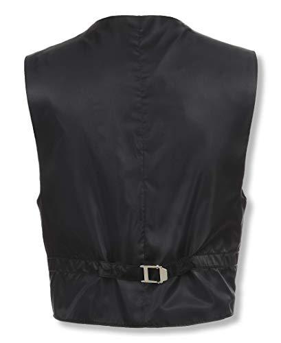 Calvin Klein Dress Up Big Boys' Bi-Stretch Vest, Black, Small by Calvin Klein (Image #2)