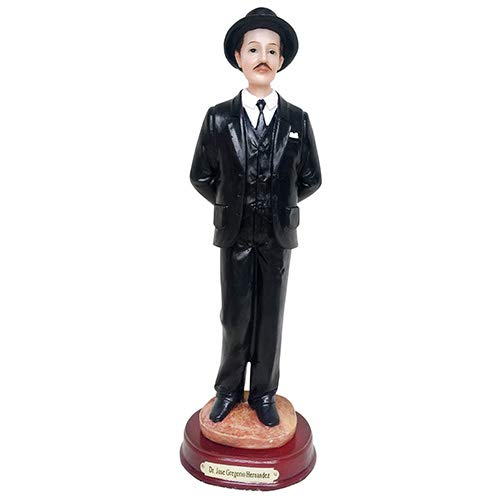 DR.Jose Gregorio Hernandez Statue Dr. Jose Sculpture in Resin Holy Figurine Home Deco Decoration 11.5 Inches