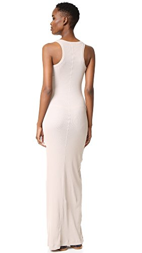 Splendid Womens Ribbed Maxi Dress Almond