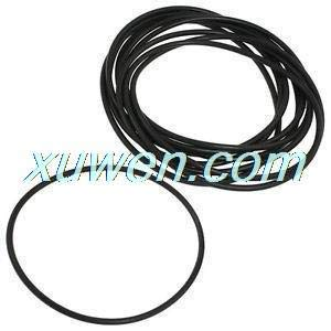 Mercury_Group Gaskets, 135mm X 4mm Black Nitrile Rubber O Ring NBR Sealing Gaskets 10 Pcs