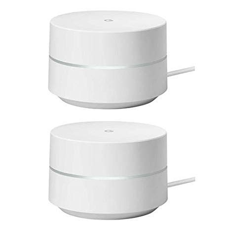 Google 2 Pack Wi-Fi Router (Google Wifi)