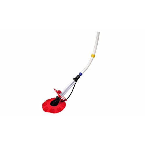 Red And White Above Ground Pool Vacuum Cleaner Swimming Pool