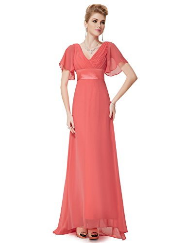 HE09890CO12, Watermelon Red, 10US, Ever Pretty Women Dresses Evening 09890
