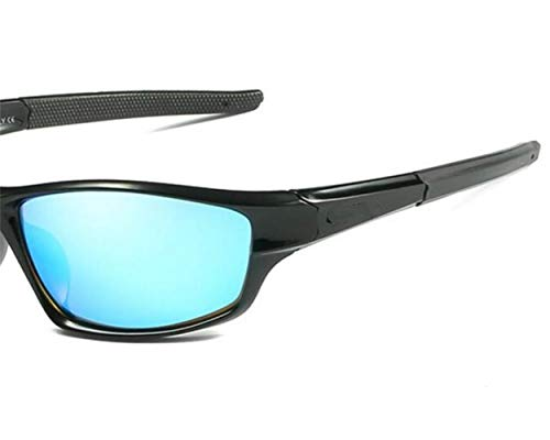 pour de FlowerKui la pêche lunettes protection air vélo de de conduite soleil de UV400 en polarisées unisexes Lunettes Bleu soleil Lunettes soleil lunettes plein vavPWnTZ