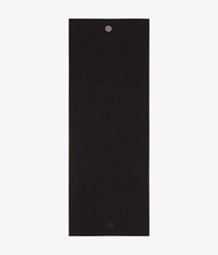 Manduka Earth Collection Yoga Mat Towel Black
