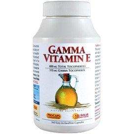 Gamma Vitamin E 360 Capsules by Andrew Lessman