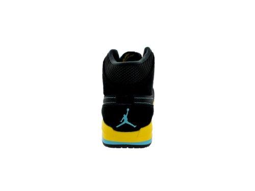 Jordan Air Jordan 1 Trek Mens 616344-089 Nero / Gamma Blue-varsity Mais