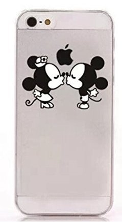 Coque Iphone 5 5s Mickey Minnie Bisous Amazon Fr High Tech