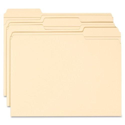 Wholesale CASE of 10 - Smead 1/3 Cut Manila File Folders-File Folders, 1/3 Ast Tab Cut, 2 Ply, Letter, 100/BX, MLA ()