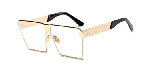GAMT Polarized Mirrored Square Designer Sunglasses for Women Driving UV400 Gold - Replica Luxury Sunglasses