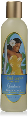Gardenia Wash Body (Island Essence Body Wash, 8 Ounce, Gardenia)