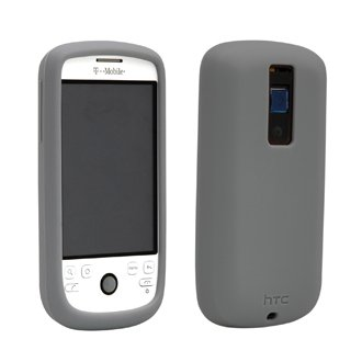 HTC T-Mobile myTouch 3G Silicone Case - Gray