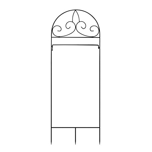 Garden Flag Kit (GrayBunny GB-6872 Garden Flag Stand, Flag Arbor, 14.75 inches wide, 50.5 inches Tall, 45 inches Above Ground, Fits Standard 12.5 x 18