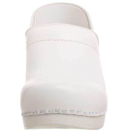 Clog Pro Women's Blanc Dansko Professional Leather Cabrio nfwTXv