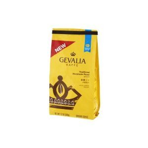 GEVALIA KAFFE Traditional Roast Medium Ground Coffee 12 oz