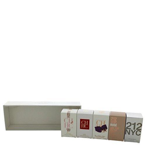 - Carolina Herrera 5-Piece Fragrance Variety Collection for Women