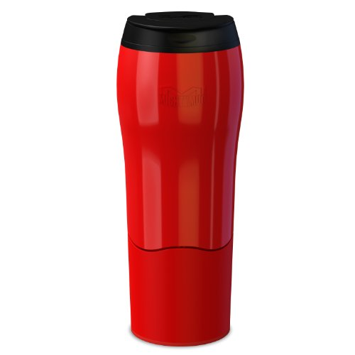Dexam Mighty Mug Travel Mug 'the mug that won't fall over' Thermos in Red 17920225