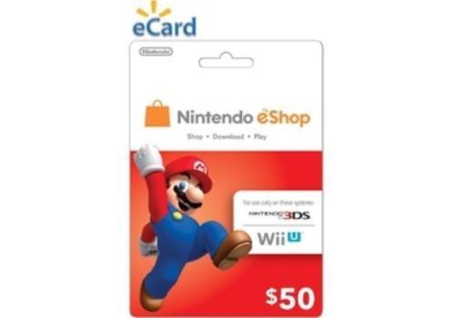 Nintendo eShop Card $50 by
