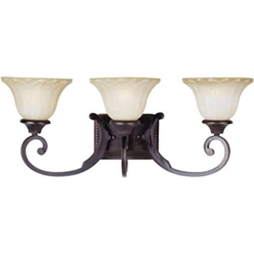 Maxim Lighting Allentown Oil Rubbed Bronze 3-Light Vanity Light 13513WSOI