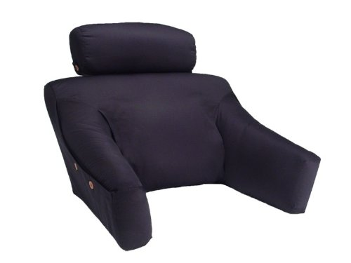 Hypoallergenic (Regular Size, 100% Cotton Cover, Black Color)