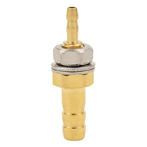 Joyway 1/8 pulgadas × 1/4 pulgadas Manguera ID Barb Thru-Bulk Cabeza Combustible Hex Unión de montaje intersección/Split latón agua/combustible/aire: Amazon.es: Industria, empresas y ciencia