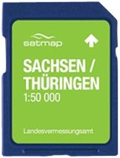 Satmap DE-REG-50-SD-007 Carte GPS du Brandebourg, de Berlin et de la Saxe-Anhalt Langue allemande DE-REG-50-SD-008