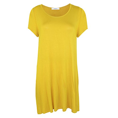 Ribbed Day Womens Dress Mustard Medium Cherish x8w6pq8