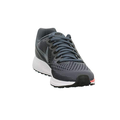 Nike Men's Air Zoom Pegasus 34, Blue Fox/Black-Bright Crimson, 6 M US by Nike (Image #4)