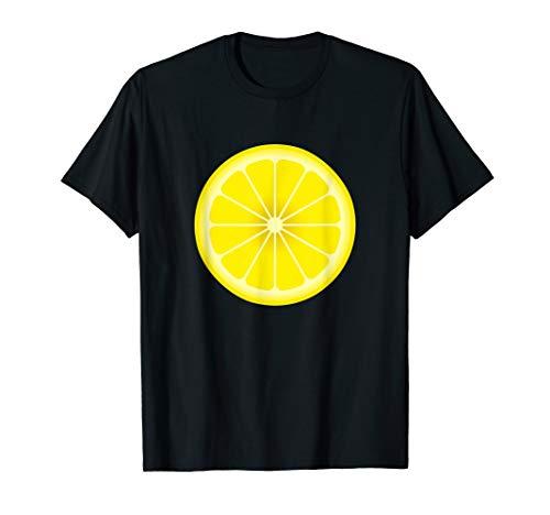 Yellow Lemon Costume Shirt Matching Halloween Costume Shirts T-Shirt]()