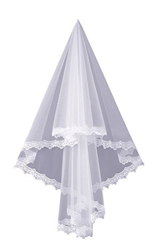 Wedding with Style1 Solovedress Evening Veil Bridal White Gown Dress Sash Mermaid Lace Dress Women's qAwwnpagFE