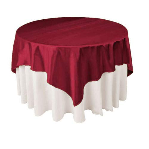 """for Wedding Party Restaurant Banquet Satin Tablecloth Table Covers  57/"""""""
