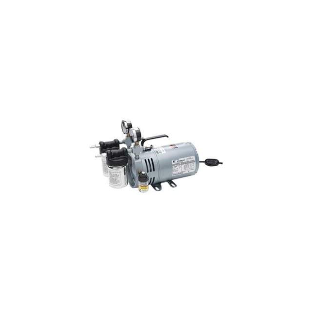 HEATHROW SCIENTIFIC 0523 V4 SG588DX Vacuum Pump,Rotary Vane,1/4 HP,26