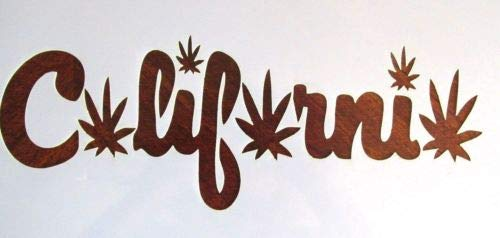 Leaf Stencil Template Reusable 10 mil Mylar ()