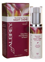 Aubrey Revitalizing Therapy Night Crème -- 1 fl oz
