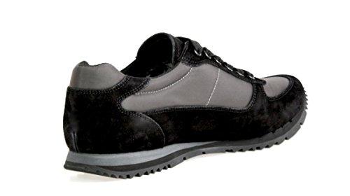 Prada - Zapatillas de Piel para hombre, color azul, talla 40 EU