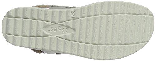 Legero Damen Savonasandalen Sandalen Weiß (White 50)
